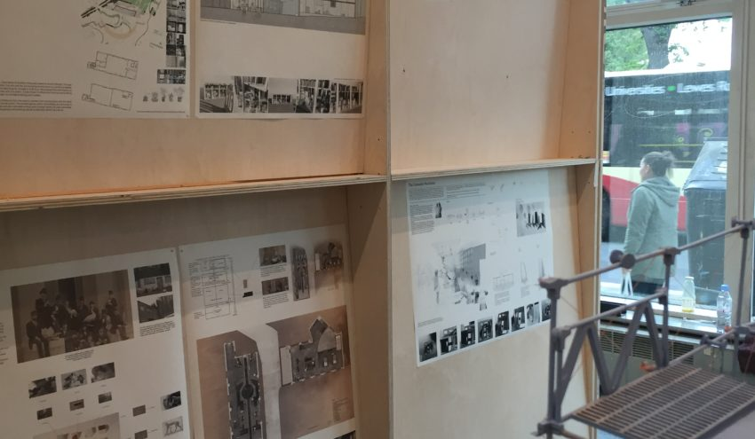 Interior Architecture Student Work Ready For Show